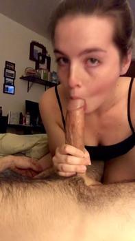 Riding His Cock Till He Cums On My Face - Tiktok Porn