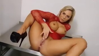 My GF's mom sucks my cock after I caught her masturbating - Chatroulette Porn