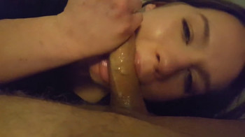 College blonde with big ass sucks and rides a big cock in bath time