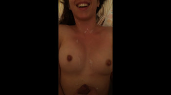 Busty Girlfriend Gets Undressed and Volcano Creampie - Periscope Porn
