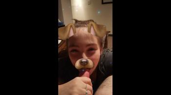 Snapchat slut lets slap her petite ass and sucks dickx - Bigo Porn