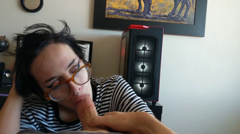 18 years old beautiful czech girl on her first Skype porn casting